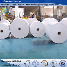 NINE DRAGON quality Stocklot 230gsm,250gsm, 300gsm, 350gsm,400gsm White Clay Coated Cardboard duplex board with grey back