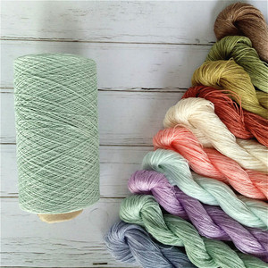 linen spun yarn, linen yarn 100% for handknitting and crocheting