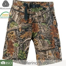 High quality mens camouflage cargo shorts,merino military camouflage shorts