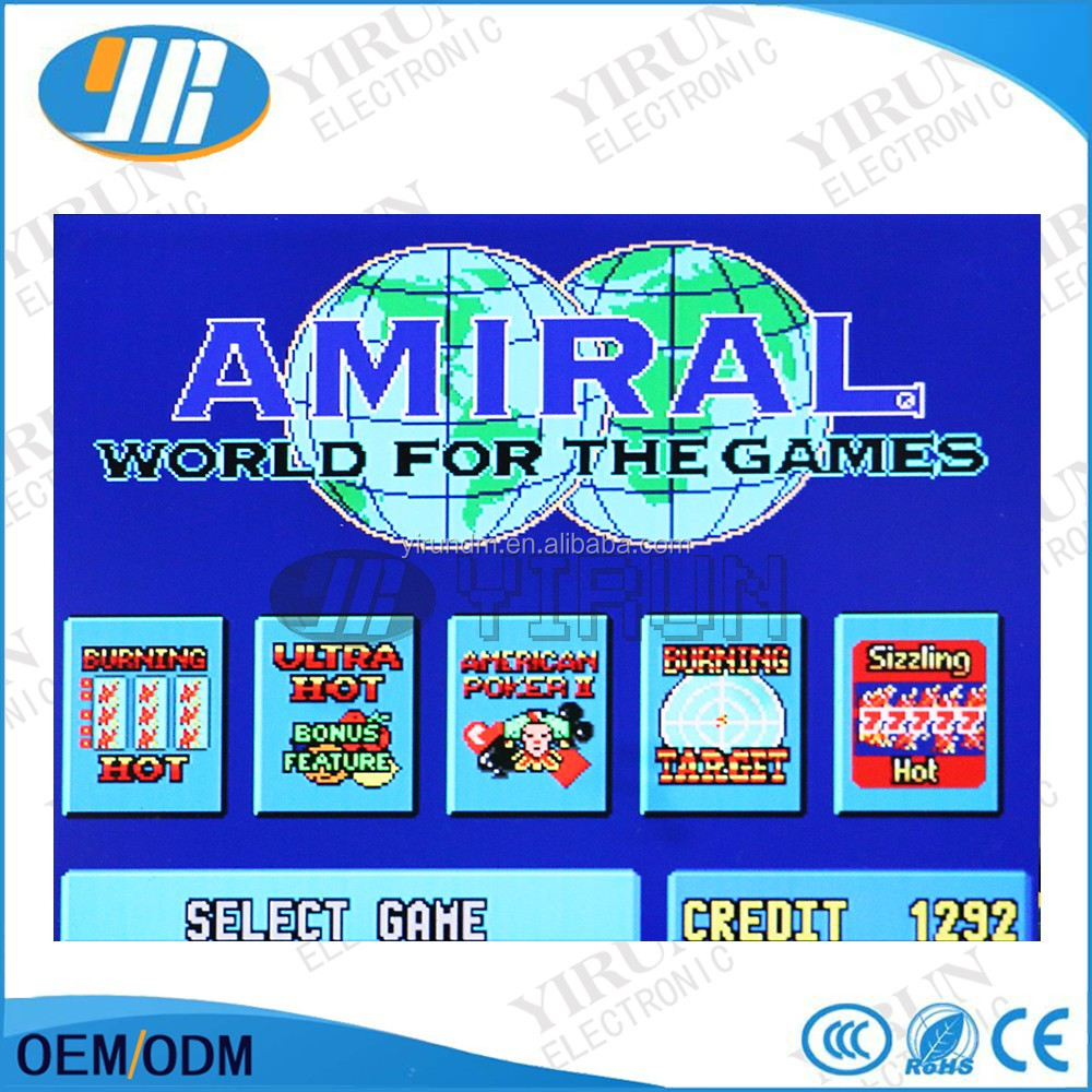 Amiral Hotspot 5 in 1 (CGA) Slot Game Board High Quality Casino Game PCB