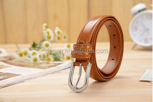 2015 best selling pure leather belts embroidered leather belt