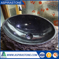 Suppliers new design purple granite stone sink bowl