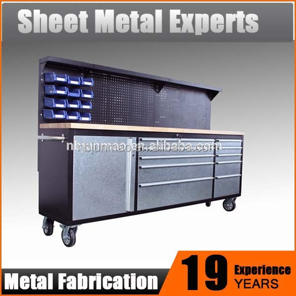 Heavy Duty Industrial wholesale drawer workbench rolling tool box