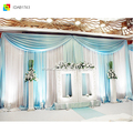 organza wedding curtain mandap backdrop