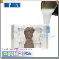 hot sale plaster casting cornice silicone rubber to make mould for statues