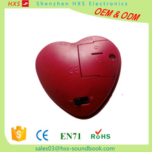 Heart-shaped Voice Recorder For Plush Toy