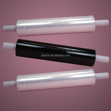 Plastic black wrap stretch film