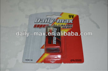 9V Alkaline Battery(6LR61)