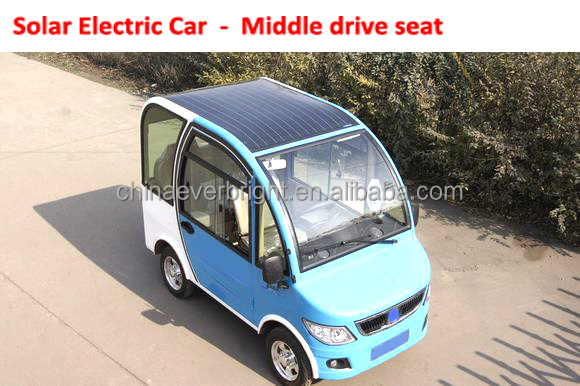 Solar Electric Car for Right hand drive country taxi