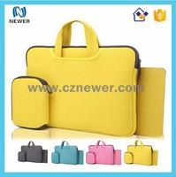 China factory good quality insulated soft protable neoprene notebook case