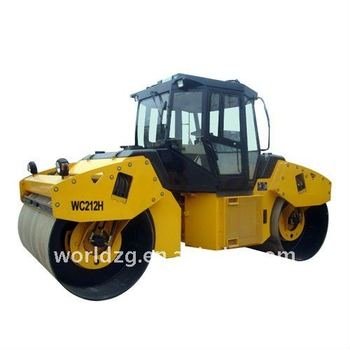 Double Drum Vibratory Road Roller Hydraulic Transmission