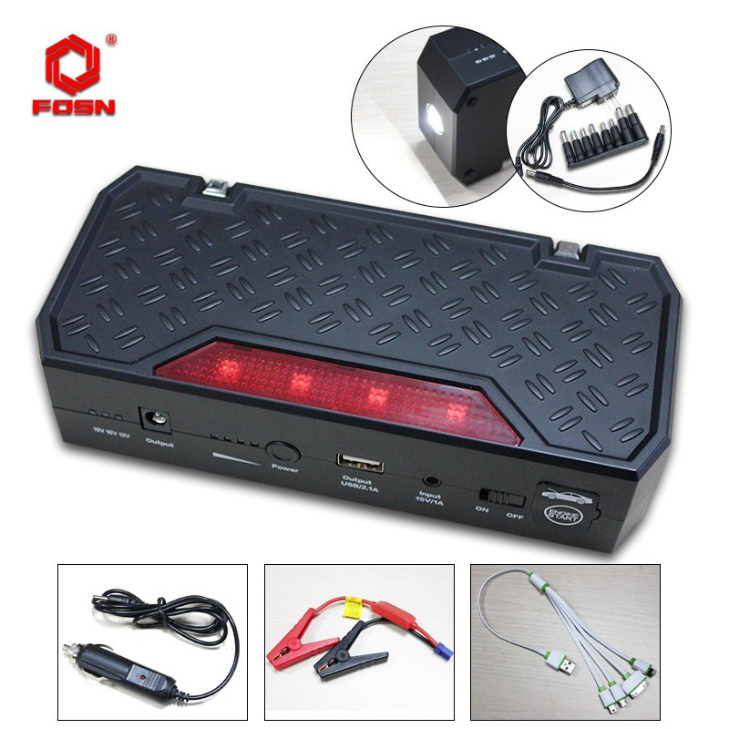 CE,FCC,ROHS Certification Multi Function OEM Powerbank Jump Starter