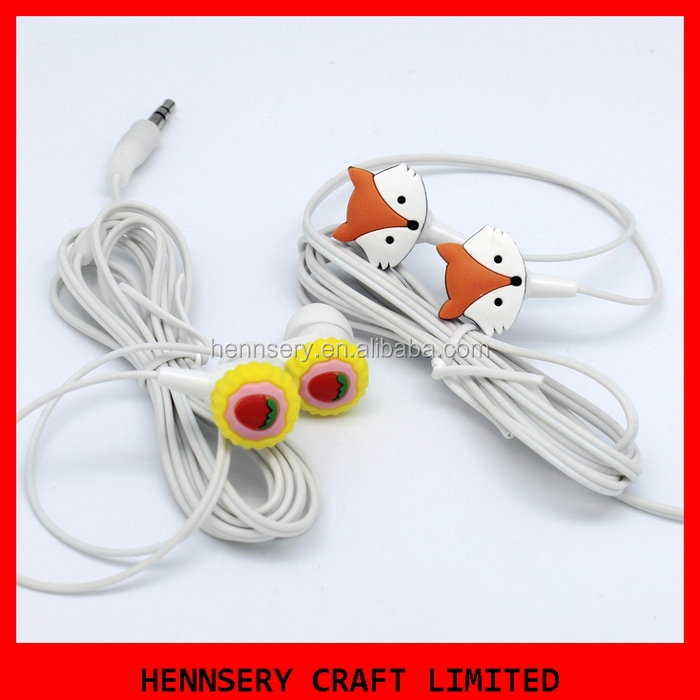 customized logo high definition earbuds