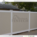 2014 Hot sale UV safety privacy Apartment Vinyl Fence