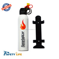 White color 500g Dry Powder Fire Extinguisher Suitable for Cars, Caravans, Taxis