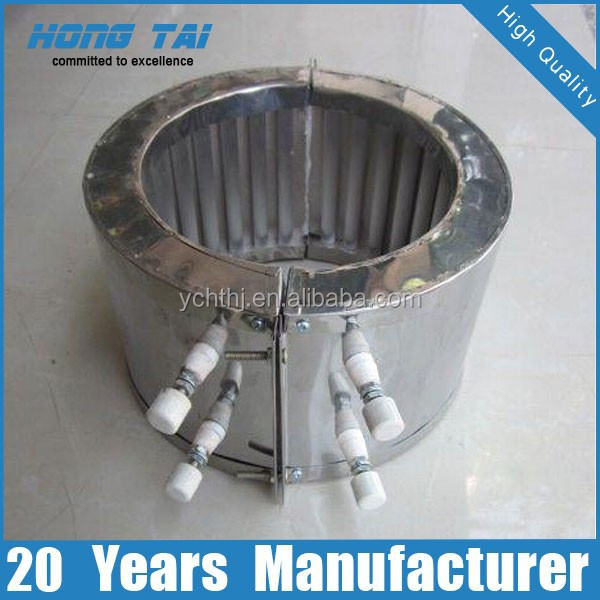 Stainless Steel Infrared Quartz Band Heater for Machine