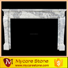 capri ornate decorative italian white marble fireplace