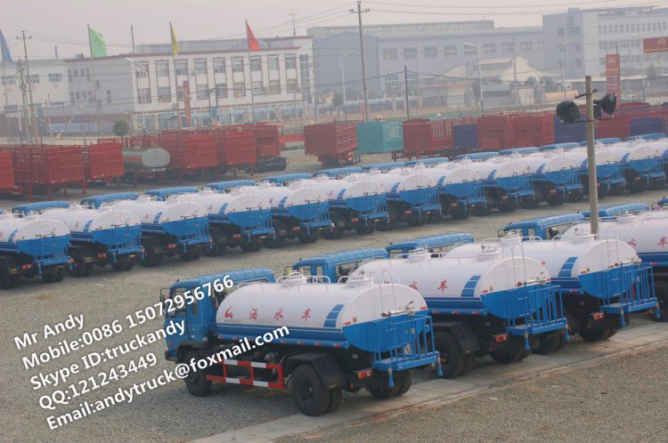 Dongfeng 10cbm water trucks for drinking,watering cart