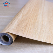 Interior Decorative Self-Adhesive Wood Grain PVC Film For Door