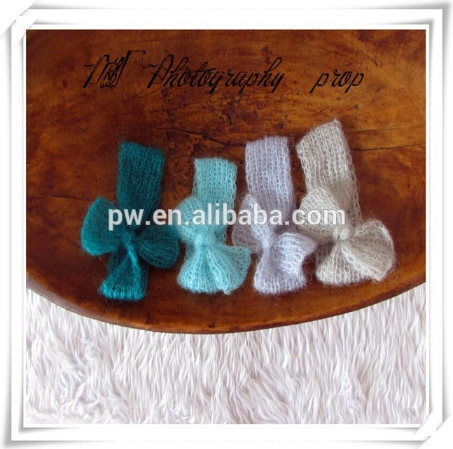 Newborn Mohair baby Shawl and Pants Newborn Crochet Mohair Pant Newborn Baby Clothes Photo Props