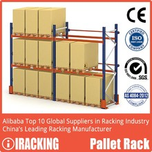 CE Certificated Warehouse Adjustable Storage Selective Pallet Rack
