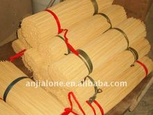WY-128 Decorative artificial dry clean bamboo sticks for sale