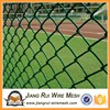 2017 galvanized PVC coated chain link fence ( diamond wire mesh )