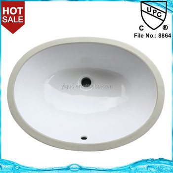 Bathroom wash vanity sink basin cUPC 2014