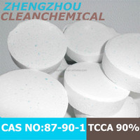 Sell Trichloroisocyanuric Acid TCCA 90% chlorine tablets for water treatment