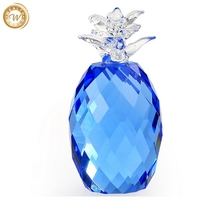 Durable hot selling crystal pineapple decoration