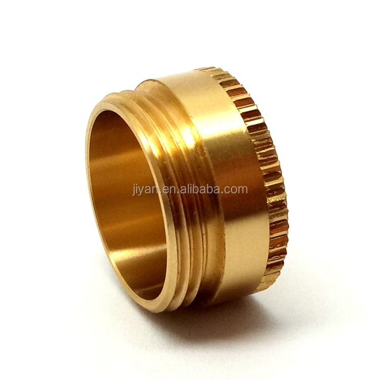 OEM high-end cnc process brass cigarette machine spare part