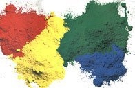Chrome Yellow pigment--pigment powder