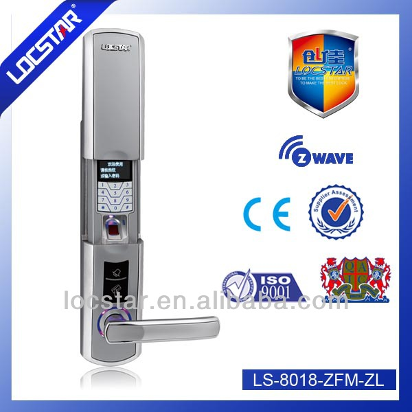 LS8018 Door handle lock fingerprint