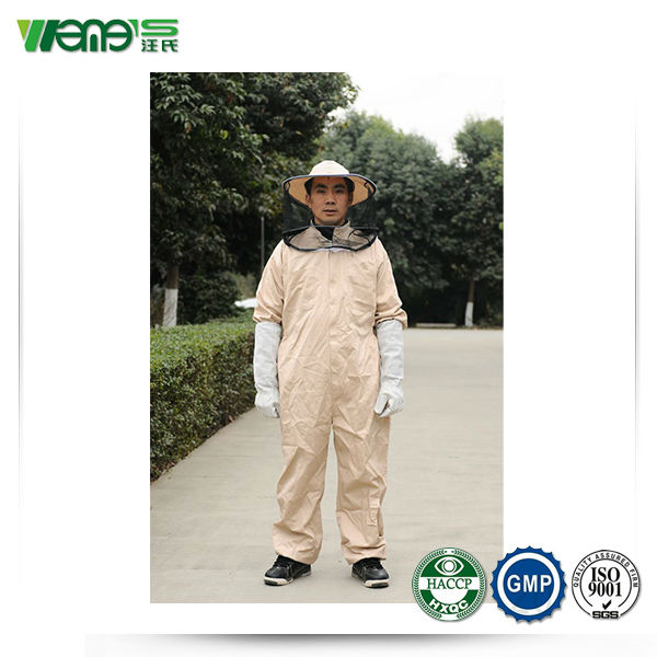 2014 hot sale pure cotton bee protective clothing suit for sale