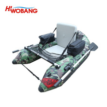 one person small fishing boat inflatable boat float tube for fishing