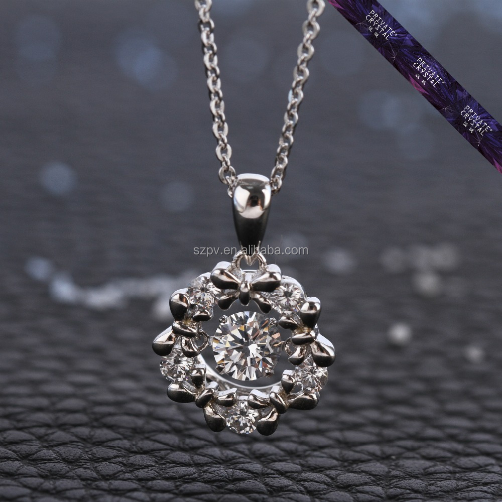 JP0561- Custom silver zircon jewellery silver women jewelry guangzhou wholesale jewelry