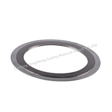 ring material ss304/316 filler material FG spiral wound gasket with outer and inner ring