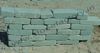Grey Tumbled Calibrated Bricks