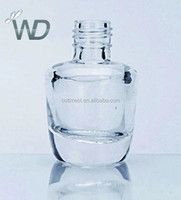 15ml nail polish packaging glass bottle for cosmetic WD00537 nail polish bottle