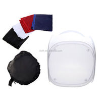 "60 x 60CM 23"" inch Photo Studio soft box Shooting Light Square Tent photo light tent +portable bag + 4 Backdrops"