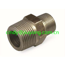 1F-12 ORFS MALE FLAT SEAT DOUBLE END ADAPTER-AMERICAN fitting