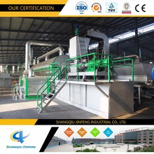 Refuse Power Generation Technology Scrap Tyre Pyrolysis Equipment with EU Standard