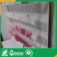 100% polyester fabric peapock blinds and window curtains