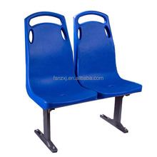PP plastic seat for bus / plastic chair seat