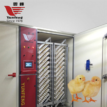 YFDF-19200 automatic single-stage chicken egg incubator hatching machine