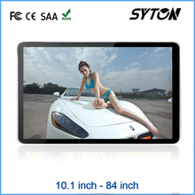 "32"" wall mounted full hd sexy advertising player ,digital signage totem"