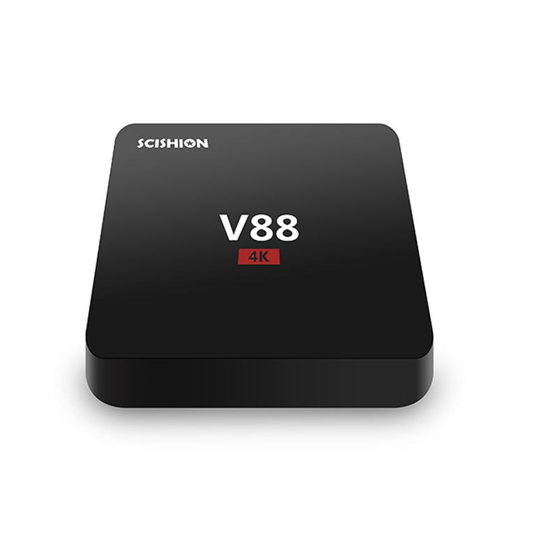 V88 TV Box RK3229 Android 5.1 TV Box V88 1GB 8GB 2.4G 100M Ethernet Smart Media Player V88