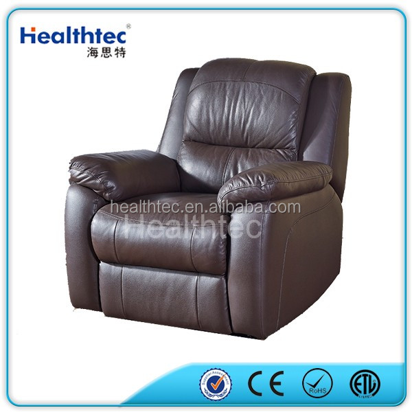 New design cheap luxury european style pu leather recliner sofa