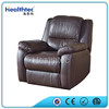 New design cheap professional luxury european style PU Leather recliner Sofa