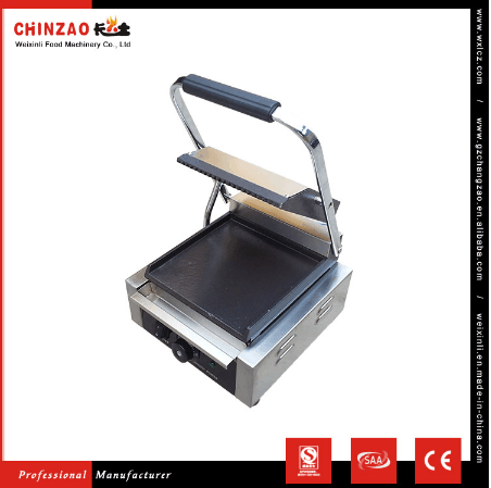 High Quality Chinzao Brand Hot Kitchen Equipment Electric Contact Grill for Sell